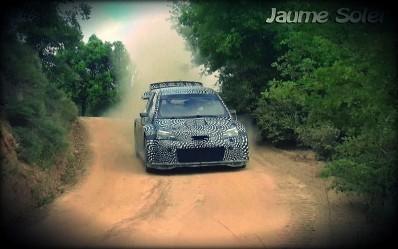 Toyota Gazoo Racing testit Espanja 2016 videokuva