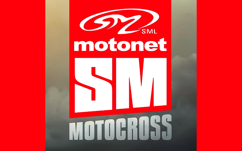 Motocrossin SM-sarja 2017 logo