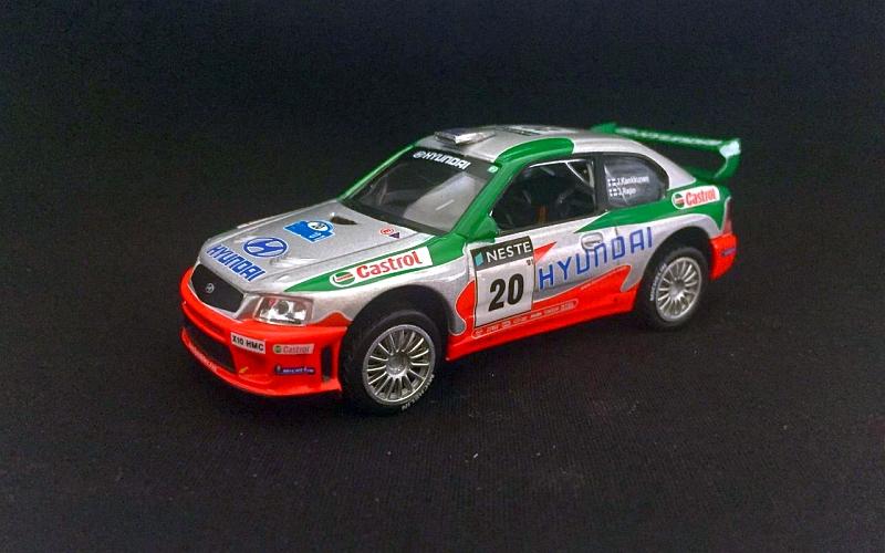 Suomi 100 Juha Kankkunen Neste Ralli 2001 Hyundai