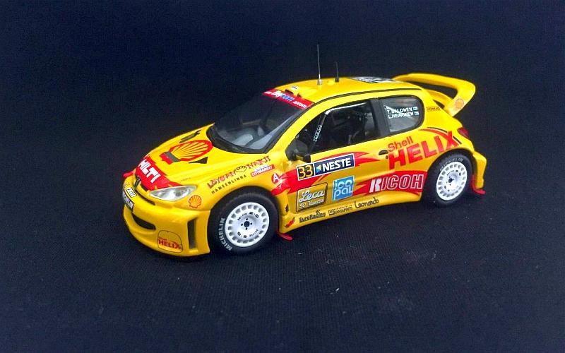 Suomi 100 Timo Salonen Peugeot 206 WRC