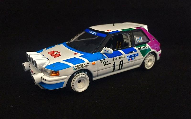 Hannu Mikkola Monte Carlo 1991 Suomi 100