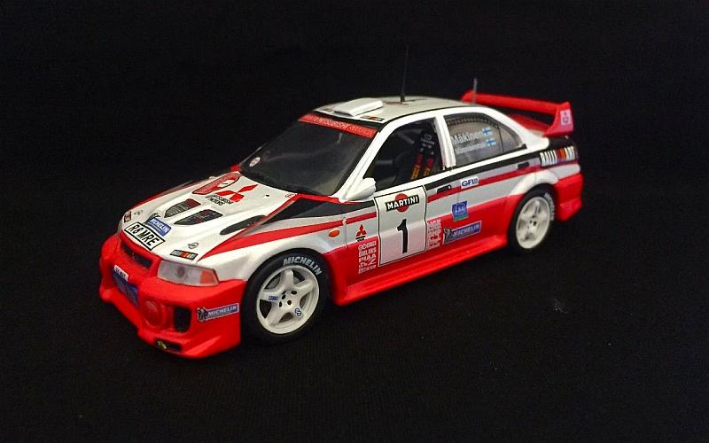 Suomi 100 Tommi Mäkinen Mitsubishi 1998 Italia