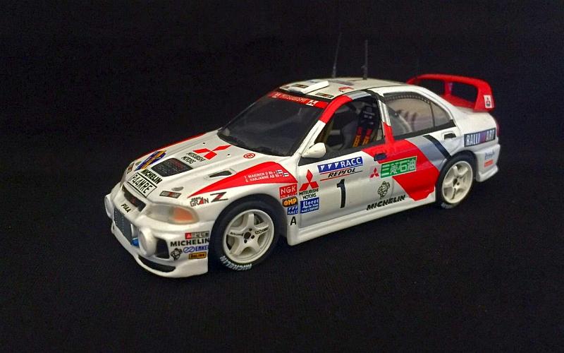 Tommi Mäkinen Suomi100 Mitsubishi 1997