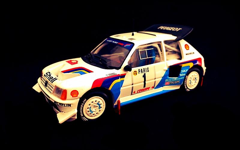 Timo Salonen Suomi100 Peugeot 1986 Monte Carlo