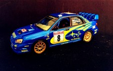 Tommi Mäkinen Suomi100 Subaru Monte Carlo 2003