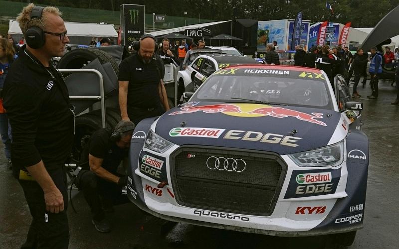 Toiset alkuerät eivät sujuneet suunnitelmien mukaisesti, sijoitus kymmenes (Kuva: Audi Mediacenter).