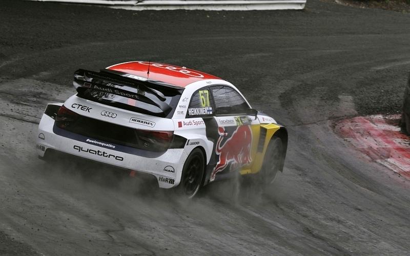 Heikkinen on saavuttanut urallaan nyt kahdeksan palkintosijoitusta MM-sarjassa (Kuva: Audi Mediacenter).