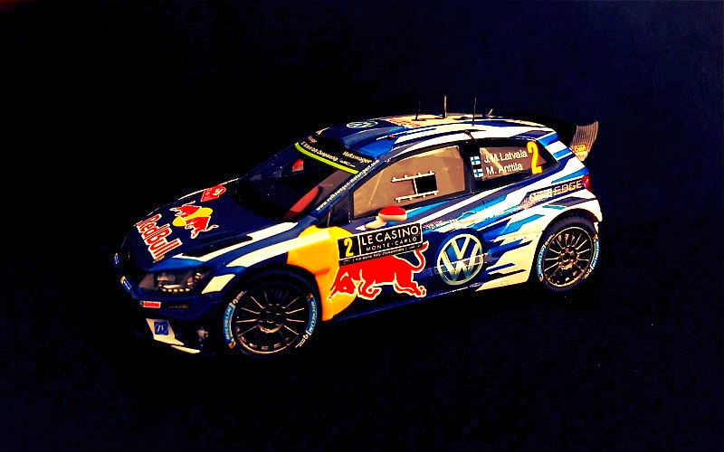 Jari-Matti Latvala Suomi100 VW WRC Monte Carlo 2016