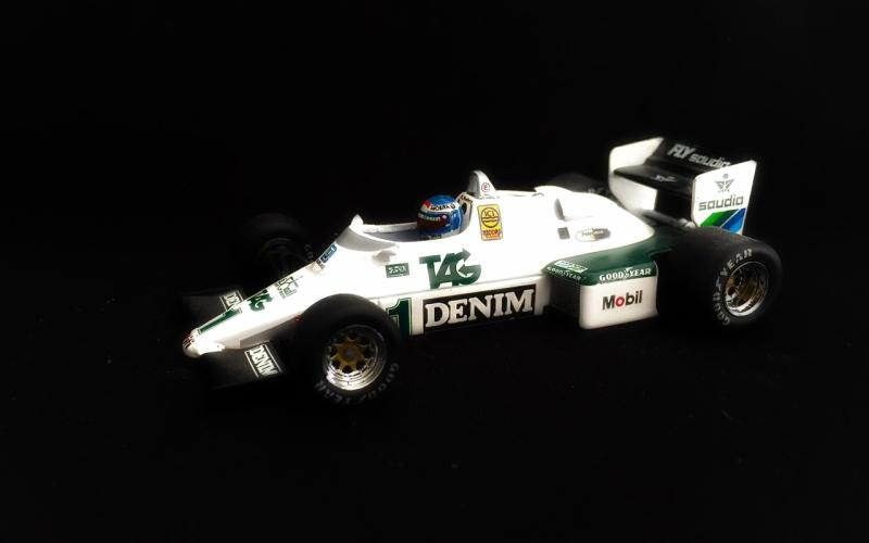 Keke Rosberg F1-Kausi 1983 Suomi100