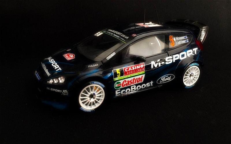 Mikko Hirvonen Monte Carlo 2014 Suomi100