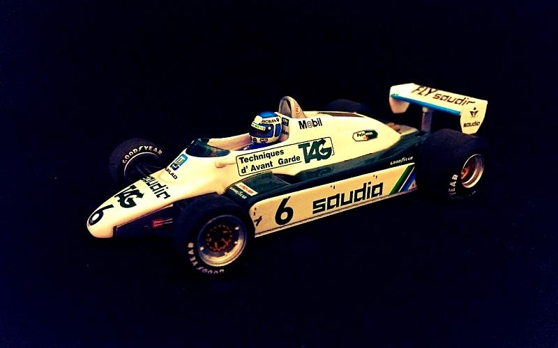 Keke Rosberg F1-Kausi 1982 Suomi100