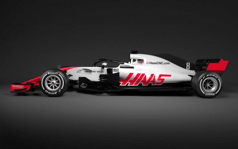 Haas-tallille alkava kausi on autourheilun kuninkuusluokassa kautta aikojen kolmas (Kuva: Haas F1).
