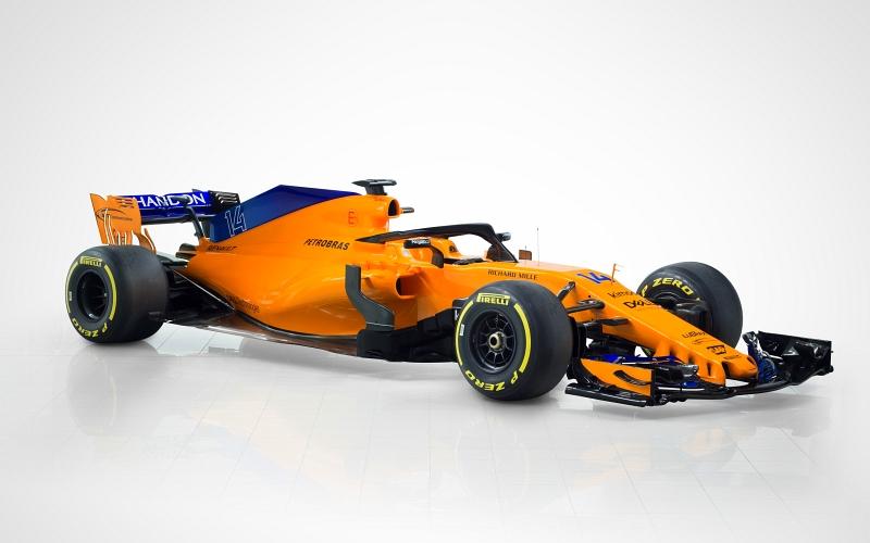 McLarenin Fernando Alonso ja Stoffel Vandoorne kilpailevat tänä vuonna MCL33-autolla (Kuva: McLaren).