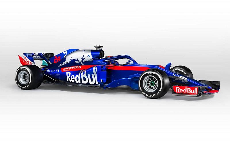 Toro Rosso kilpailee tällä kaudella Hondan moottoreilla (Kuva: Getty Images / Red Bull Content Pool).