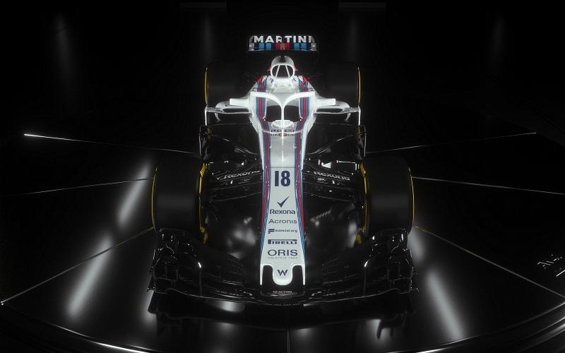 Myös Williams-talli luottaa Mercedeksen voimanlähteisiin (Kuva: Williams).