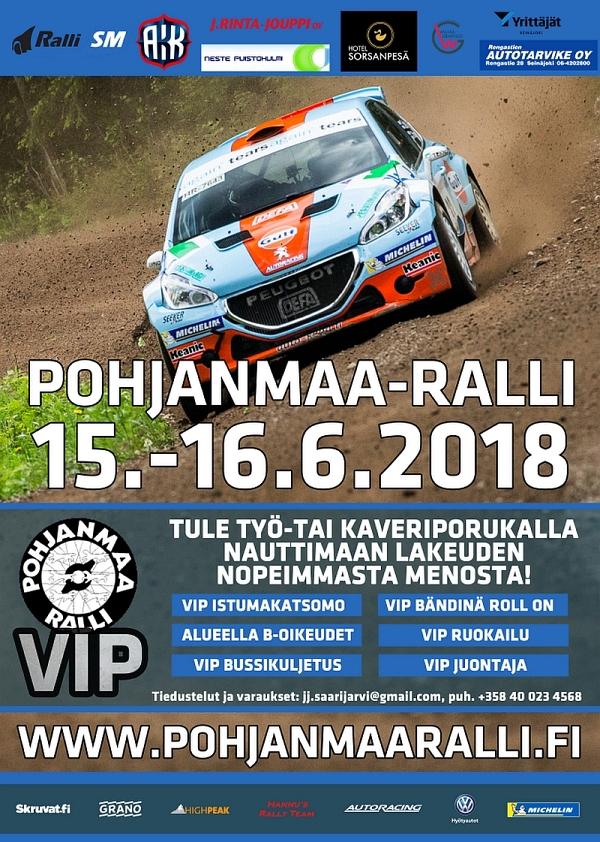 Pohjanmaa Ralli 2018 VIP
